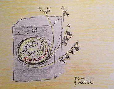 Waschmaschine: Arbeit zum Schleuderpreis