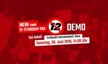 Demonstrationsaufruf gegen 12-Stunden-Tag
