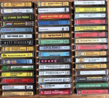 Tonbandkasetten aus den Siebzigern