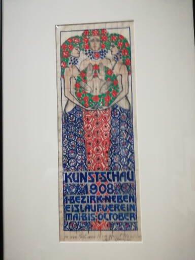 Plakat zur Kunstschau 1908