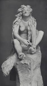 Teresa Feodorowna Ries, Hexe bei der Toilette für die Walpurgisnacht, 1895; heute im Wien Museum