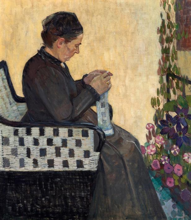 Broncia Koller-Pinell, Die Mutter der Künstlerin, 1907, Foto: Johannes Stoll © Belvedere, Wien